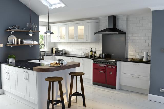 wren kitchens - shaker ermine true white
