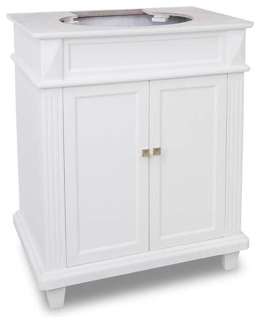 Elements Douglas Vanity Traditional Bathroom Vanities And Sink - 30 bathroom vanity without top