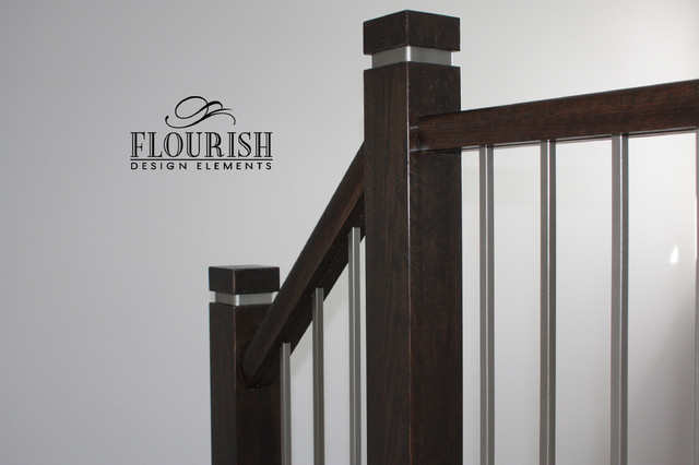 The Eco Newel Post Contemporary Toronto By Flourish