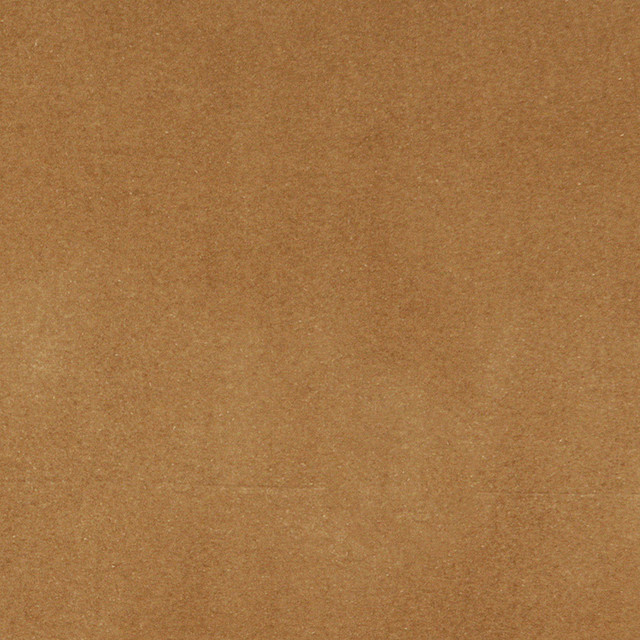 Palazzo Fabrics Camel Brown Solid Plain Velvet Upholstery