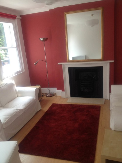 Awesome What Should I Do With The Red Wall In My Living Room? Part 27