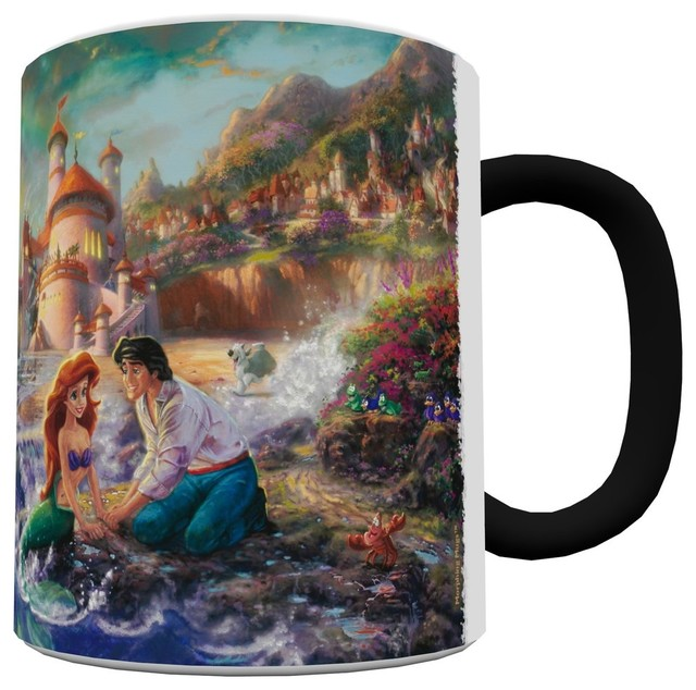 Disney TK Collection The Little Mermaid Heat Activated Morphing Mug