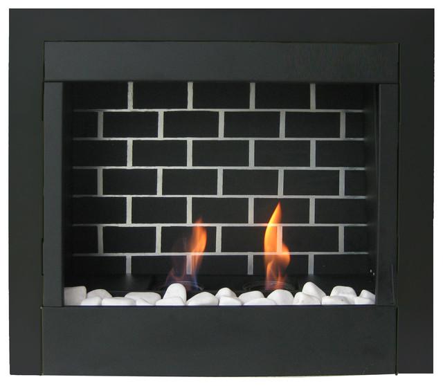 23 Retrofit Gel Fuel Fireplace Insert Modern Indoor