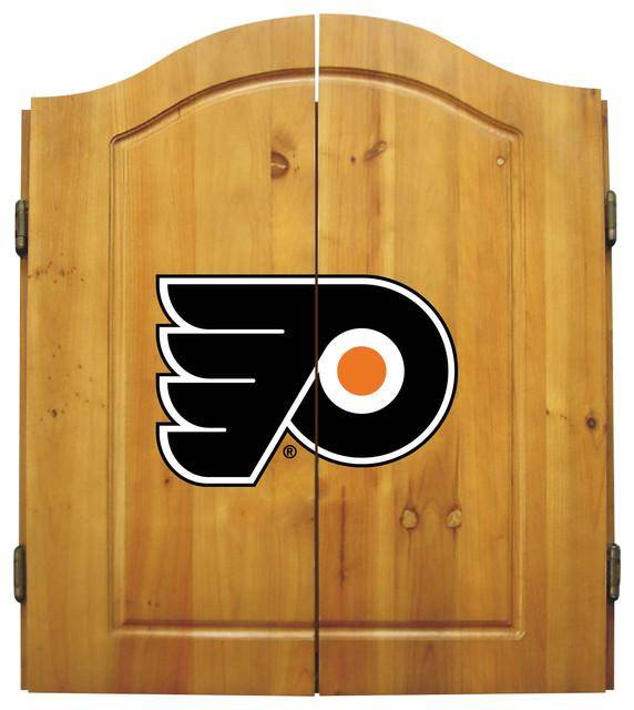 Philadelphia Flyers Dart Cabinet - Transitional - Darts And Dartboards ...