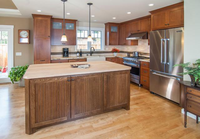 106 Remodel Redwood City Craftsman Kitchen San Francisco By Prec