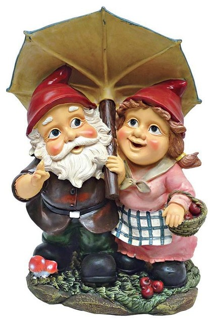 Italian Gnomes Home Garden Statue Sculpture Traditional Garden Statues And  Yard