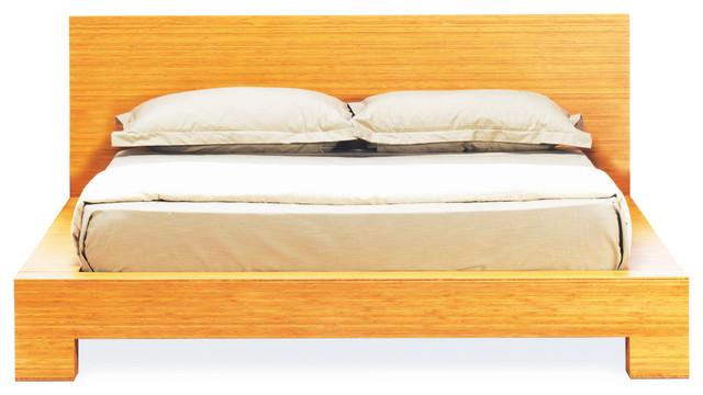 Orchid Platform Bed, Caramelized, Eastern King.