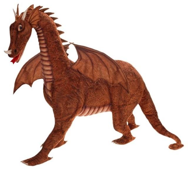 Ride On Great Dragon Stuffed Animal Traditional Kids