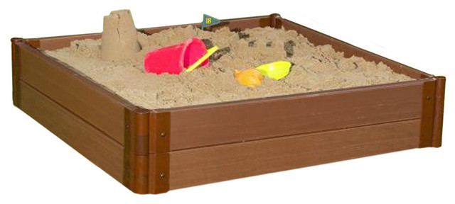 Two Inch Series Composite Square Sandbox Kit - Traditional ...