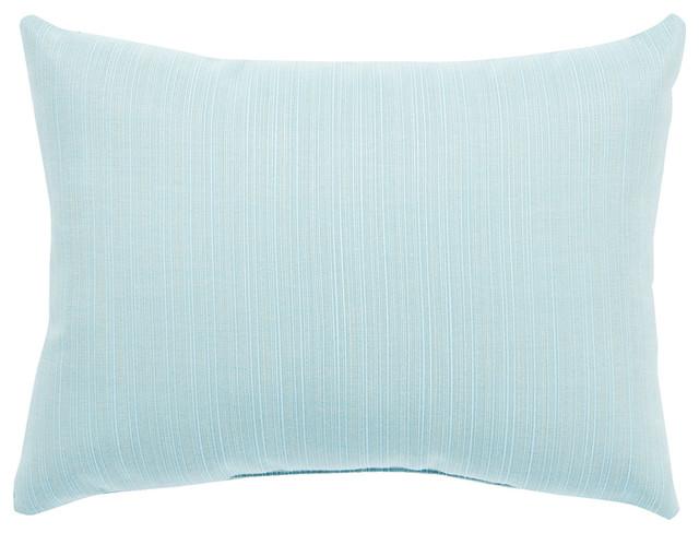 Jaipur Living Brava Light Blue Solid Indoor Outdoor Throw Pillow