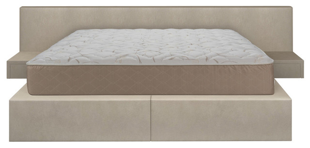 Double Sided Reversible Back Aid Innerspring Bed-In-A-Box Mattress, Queen.