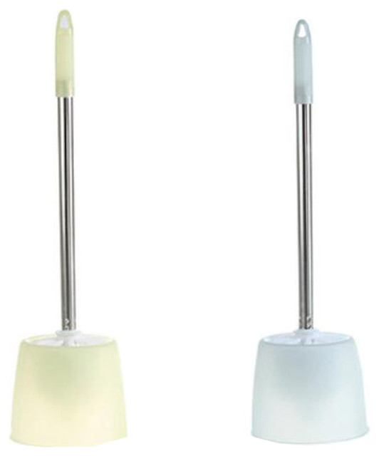 2-Piece Bathroom Cleaning Brushes Toilet Brushes With Holders