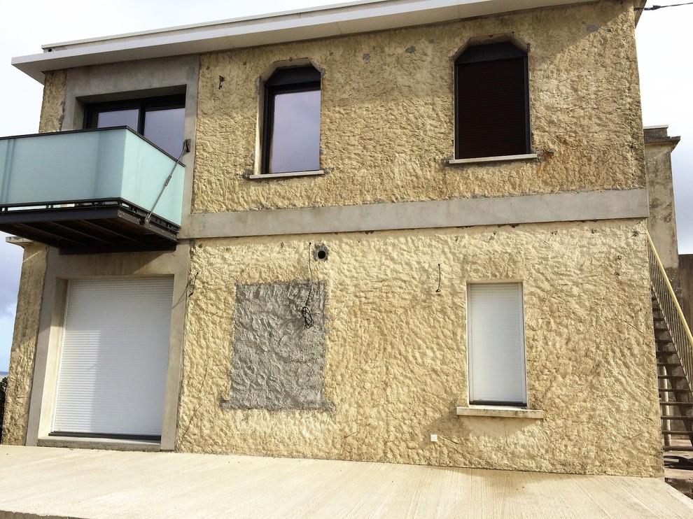 Réparation de façade et enduit à la chaux