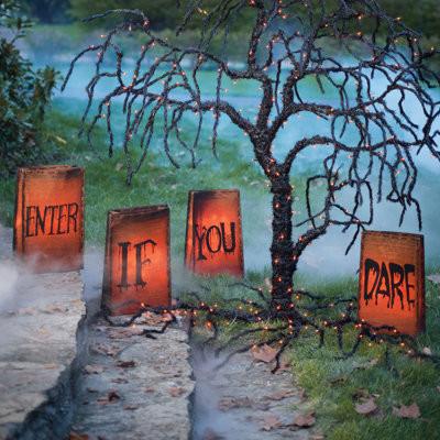 Enter If You Dare Halloween Luminaries Halloween