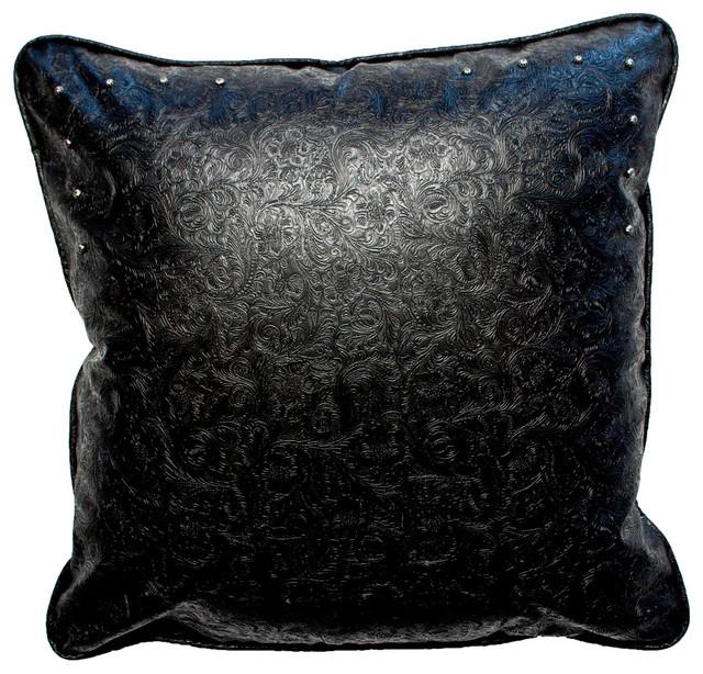 Southwestern Euro Pillow Shams : Silverado Home - Ventura Red Euro Sham & Reviews Houzz