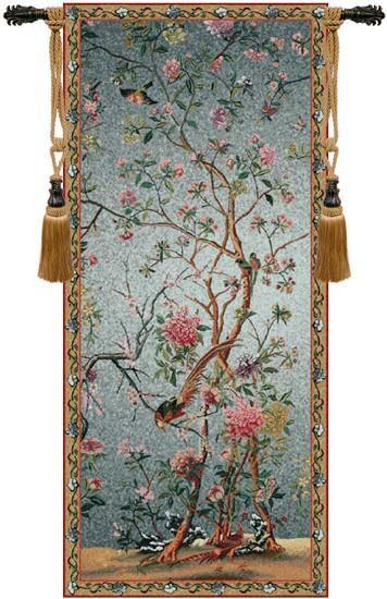 Spring Blossom Tapestry Wall Art Hanging.