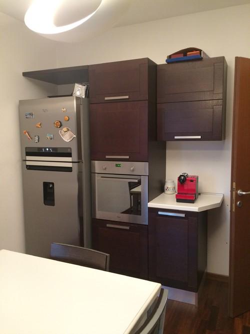 Work in progress - Cucina e soggiorno