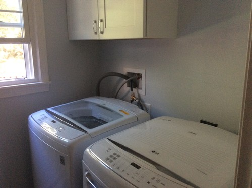 Bathroom Laundry Room Hiding Laundry Hookups