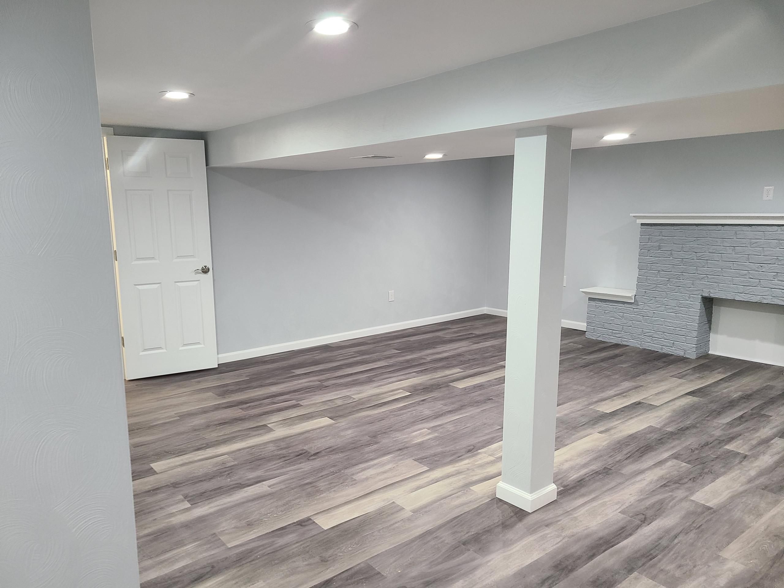 Washington basement remodel