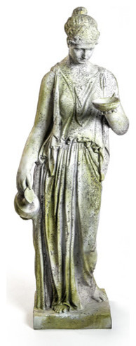 Hebe Large 64, Large Classical Sculpture