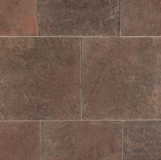 Roterra Slate Tiles Copper Quartzite 16x16 Straight Natural 10 Pieces