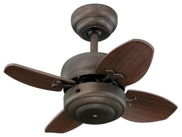 20 Mini 20 Fan, Roman Bronze.