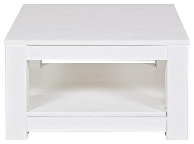 photos  table basse bois x carree gerarda couleur blanc moderne