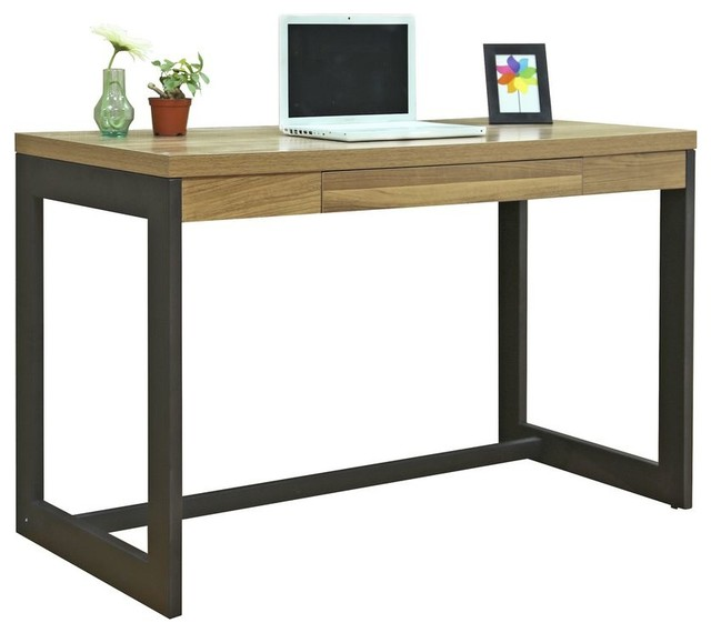 Kirby Heartwood Desk Contemporary Desks And Hutches By