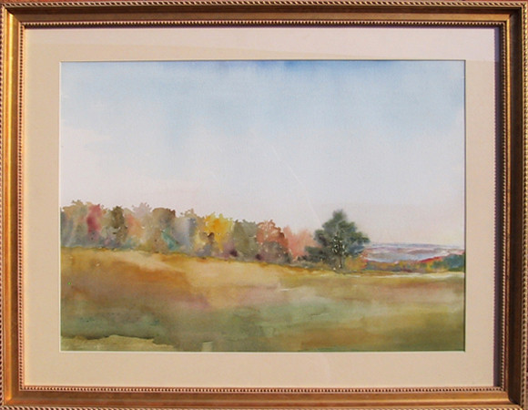 Mary Kelsey Landscape Watercolor Painting Paintings