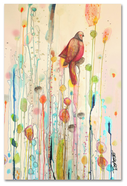 Sylvie Demers Unwind Canvas Art Contemporary Prints And Posters By Trademark Global