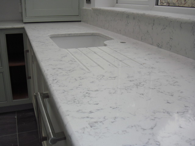 Lyra Quartz Worktops Silestone Contemporary