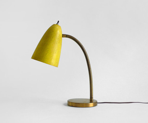 Vintage Gooseneck Lamp eclectic table lamps