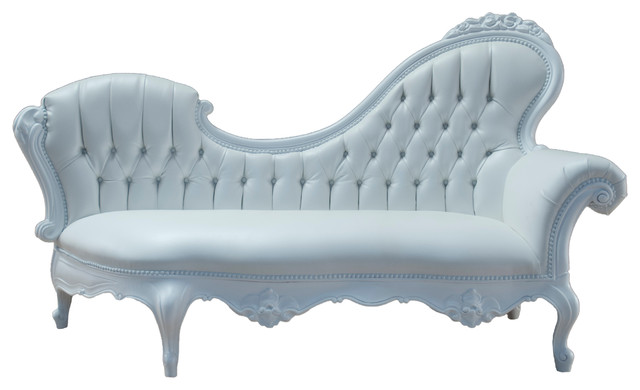 Polyurethane Chaise Lounge Left victorian-outdoor-chaise-lounges  sc 1 st  Houzz : chaise lounge victorian - Sectionals, Sofas & Couches