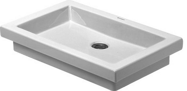 Duravit D03175800291 2nd Floor Vessel Style Bathroom Sink, White.