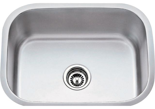 Undermount Utility Sink Stainless Steel : ... Gauge Stainless Steel Undermount Utility Sink - Utility Sinks Houzz