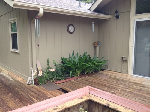 Need Deck Paint Color That Will Look Natural On Large Deck