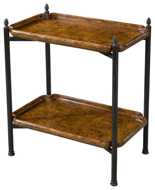 Theodore Alexander Butler S Tray Accent Table