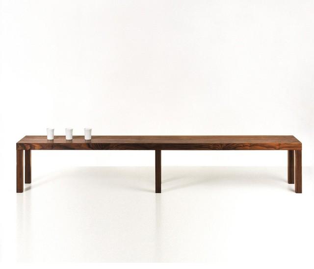 stato bank minimalistisch gartenb nke von ambientedirect. Black Bedroom Furniture Sets. Home Design Ideas
