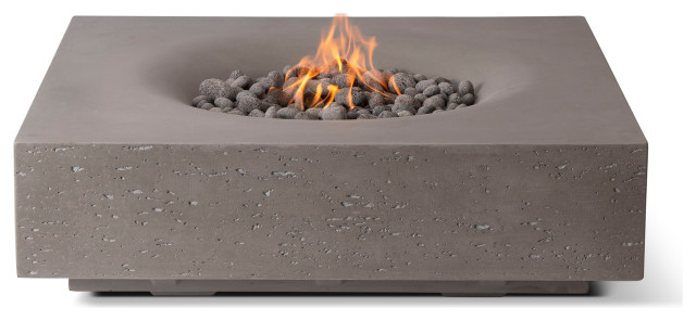 Infinity Fire Table, Slate Gray, Natural Gas