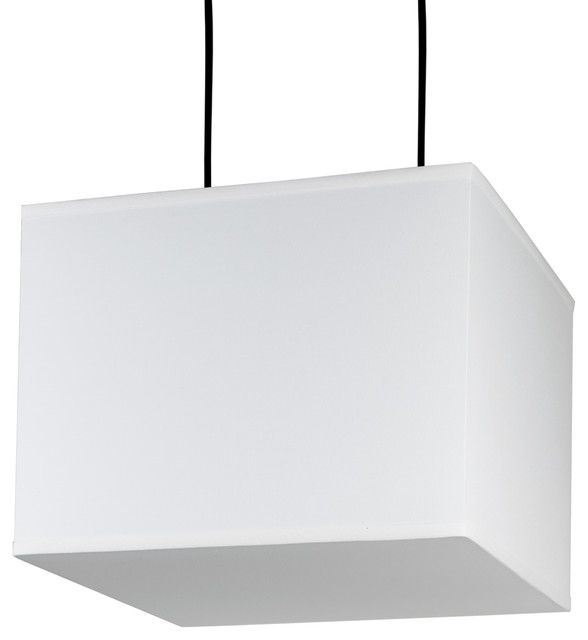 Rex Square Large Pendant Light In Natural Linen Shade Modern Pendant  Lighting Great Pictures