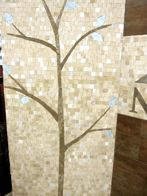 Left tree wall with fill complete