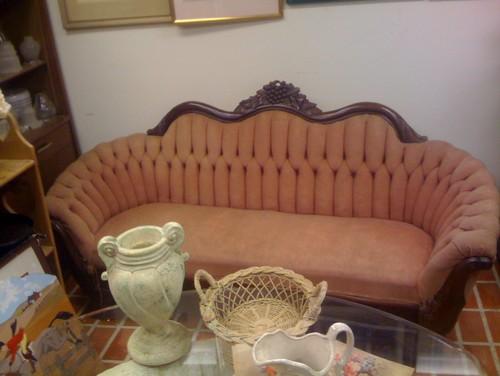 Help dating antique settee sofa GardenWeb