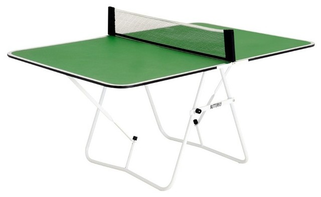 Fun Table Tennis Table, Blue Contemporary Game Tables
