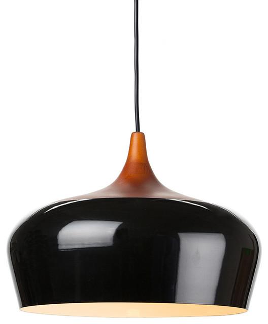 Liam Pendant Light, Black, Large Modern Pendant Lighting