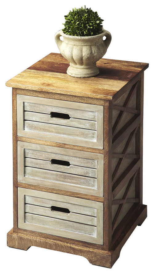 Butler Chairside Chest In Modern Expressions Finish