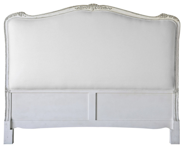 shop houzz  eloquence eloquence® sophia queen headboard silver, Headboard designs