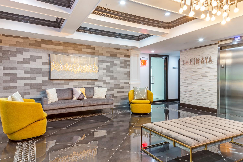 Condominium Building Lobby