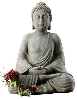 asian garden statues. Meditating Buddha Statue - Asian Garden Statues And Yard Art By St Croix