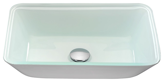 Broad Series Vessel Sink, White.