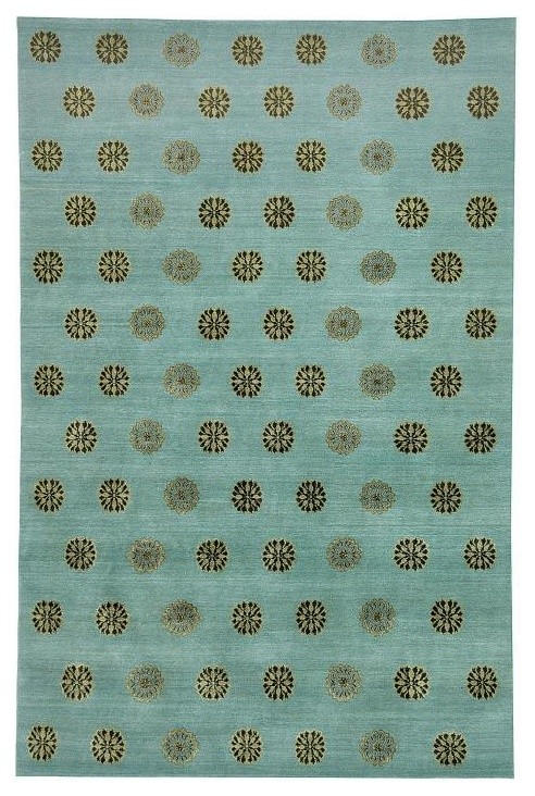 Safavieh Thomas Obrien TOB882C Ocean Rug, 9'0x12'0 Rectangle
